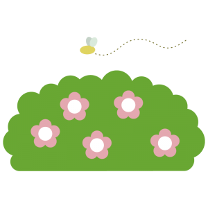花が咲いた植木