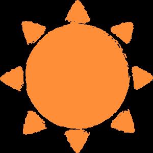 太陽(晴れ)