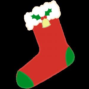 クリスマス靴下(ベル付き)