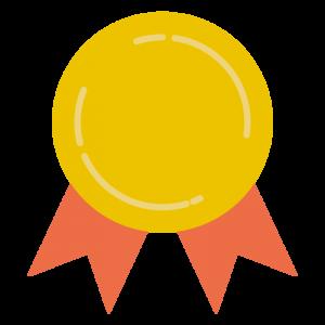 金メダル(文字なし)