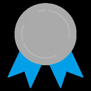 銀メダル(文字なし)