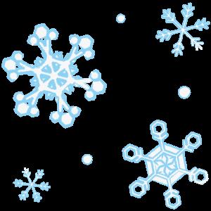 雪の結晶(手書き風)