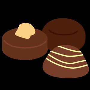 チョコレート(トリュフ、ナッツ)