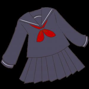 長袖セーラー服