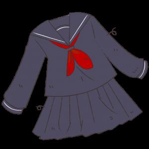 古いセーラー服