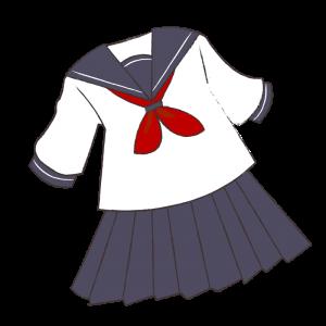 半袖セーラー服