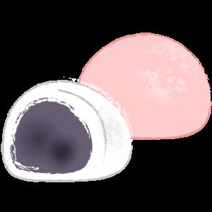 紅白饅頭(まんじゅう)