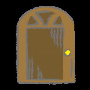 閉まっている扉