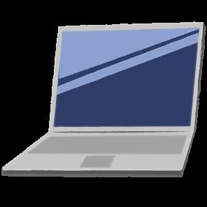 ノートパソコン(オフ)