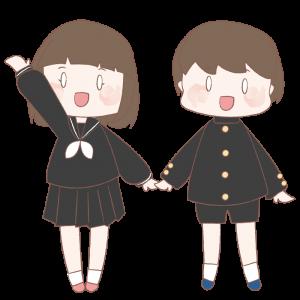 制服の子ども