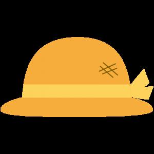 麦わら帽子(黄色いリボン)