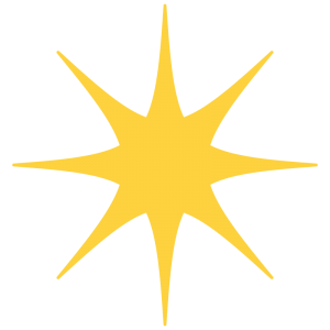 きらめく星