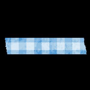 マスキングテープ(青チェック)
