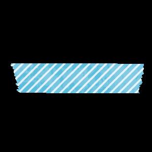 マスキングテープ(水色)