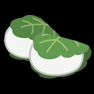 かしわ餅(2個)
