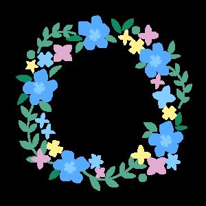 お花の飾り