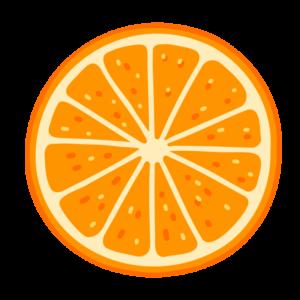 輪切りのオレンジ