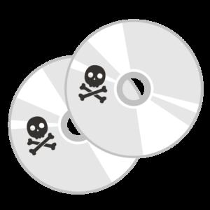 海賊版のCD/DVD