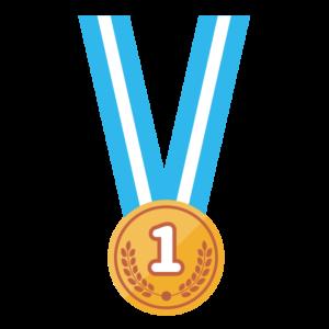 金メダル(首掛け)