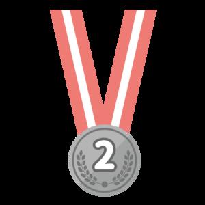銀メダル(首掛け)