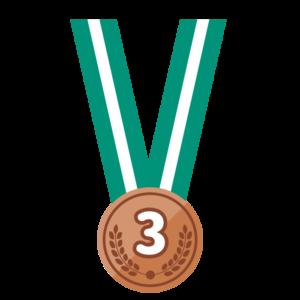 銅メダル(首掛け)