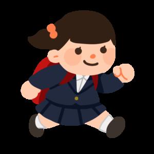 小学生の女の子(制服)